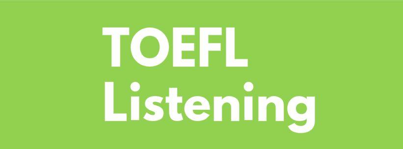 Toefl listening dersi
