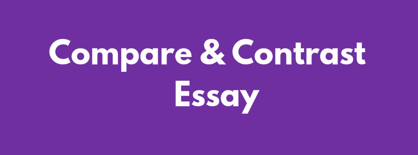 compare and contrast essay nedir