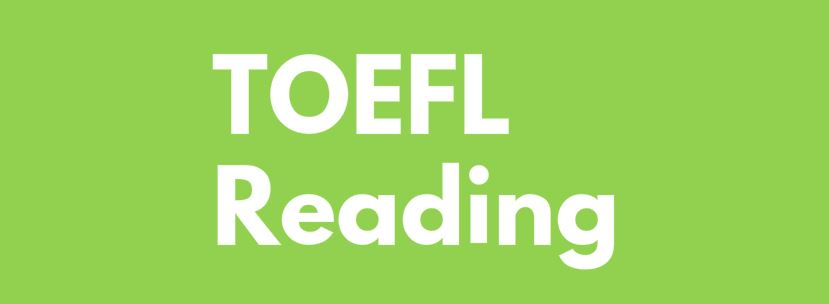 toefl reading dersi