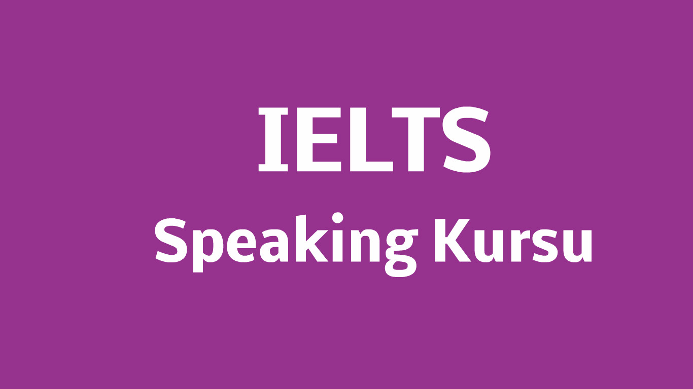 ielts speaking kursu