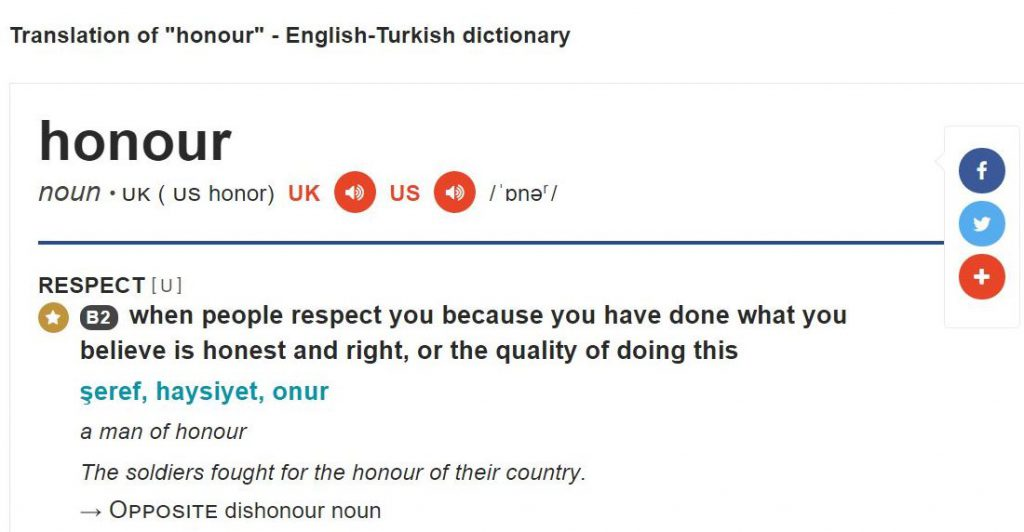 ingilizce örnek cümle içeren sözlük
