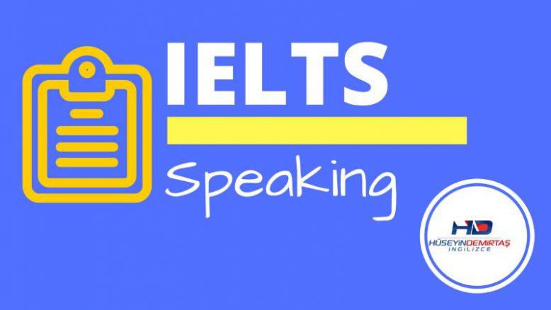ielts speaking soruları