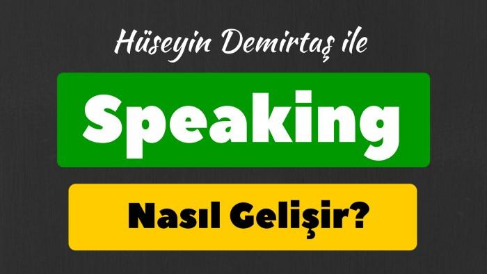 speaking nasıl geliştirilir